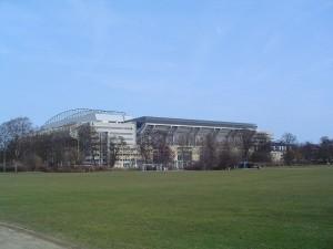 Stadion Parken - to tu rozegrany zostanie finał (fot. Wikipedia)