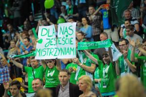 Kibice Impela Wrocław (fot. Filip Susmanek, Impel - nadesłane materiały prasowe)