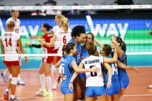 Mistrzostwa Europy: Włochy - Polska 3:1 (fot. CEV)
