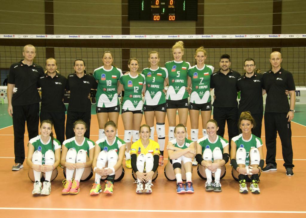 Impel Wrocław 2015/2016, fot. CEV