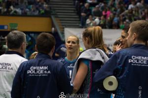 Impel Wrocław - Chemik Police, 24.01.2016, fot. Aleksandra Twardowska